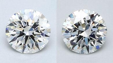 تفاوت الماس vs1 و vs2
