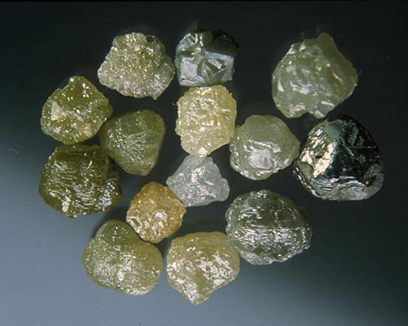 راف الماس کم ارزش مصارف صنعتی