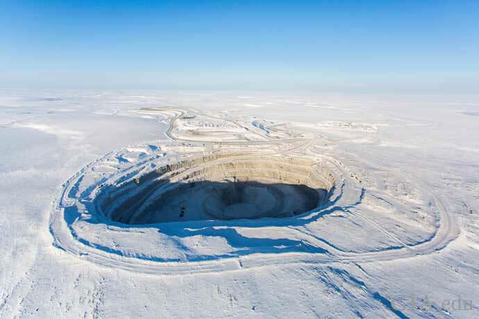 معدن الماس در شمال کانادا