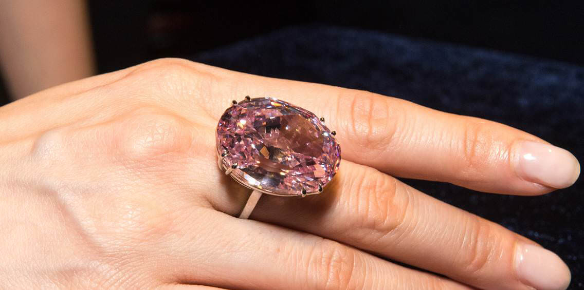 الماس میراث صورتی هری وینستون