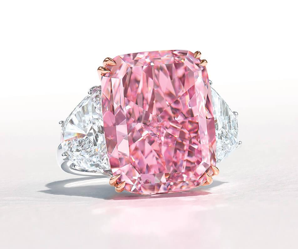 الماس ساکورا در حراجی کریستیز sakura diamond
