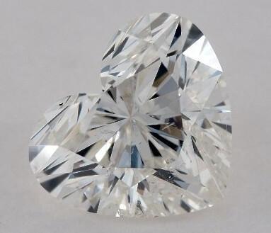 الماس SI2 EYE CLEAN تراش قلبی