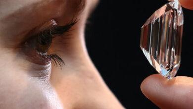 الماس eye clean پاک