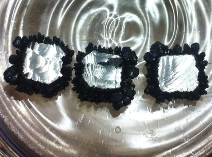 الماس های تولید شده به روش CVD