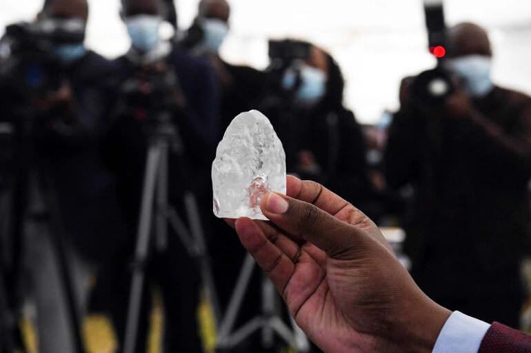 کشف سومین الماس بزرگ جهان با وزن 1098 قیراط