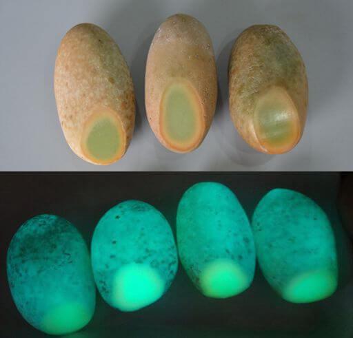 سنگ بدل گوهر شب چراغ طبیعی