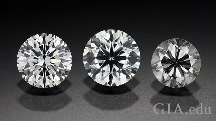 مقایسه درجه تراش الماس