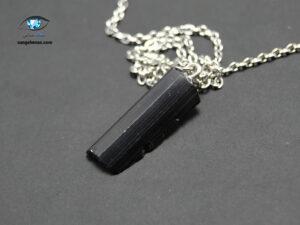 آویز کریستال تورمالین سیاه طبیعی 3 گرم