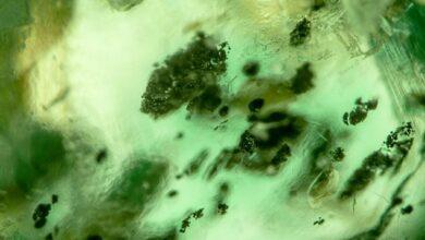 اینکلوژن کرومیت در زمرد