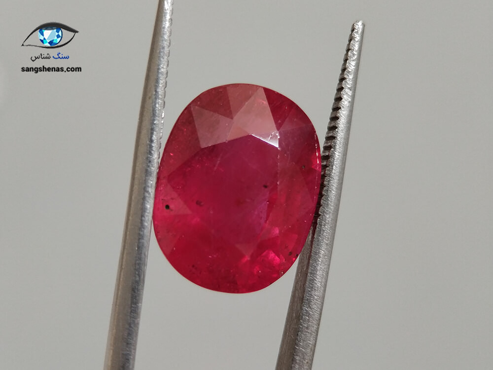 سنگ یاقوت سرخ (شناسنامهدار) 8.83 قیراط