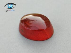 عقیق سرخ طبیعی (ابعاد کوچک) 3.7 قیراط