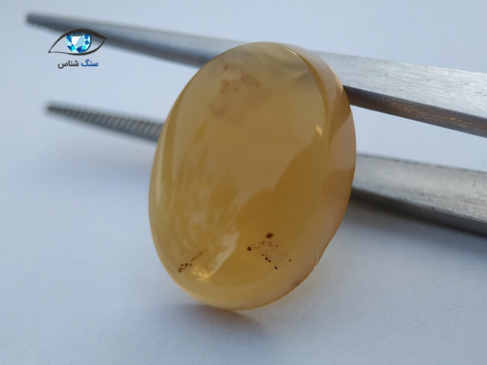 خرید سنگ عقیق زرد درشت طبیعی