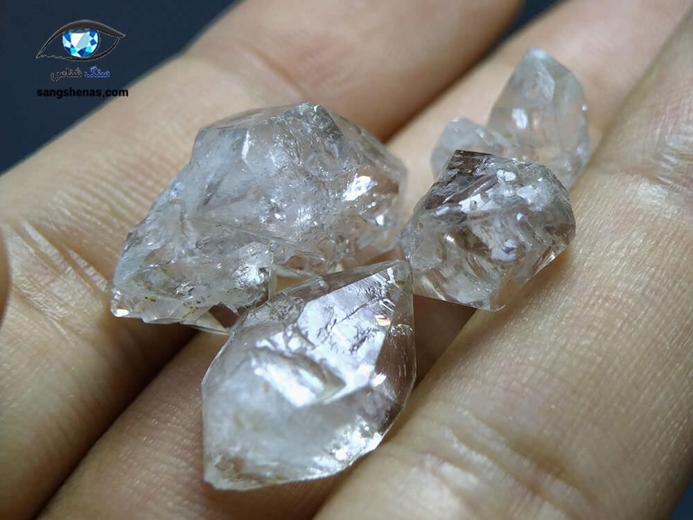 خرید الماس هرکیمر شفاف