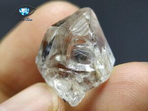 الماس هرکیمر (کوارتز) بسیار شفاف 4.3 گرم