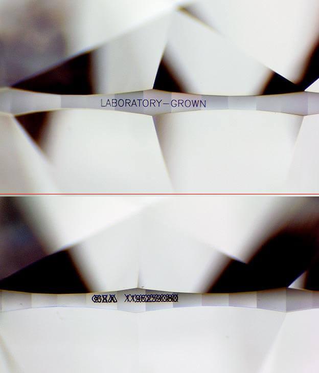 شماره ریپورت جعلی حک شده روی کمربند الماس